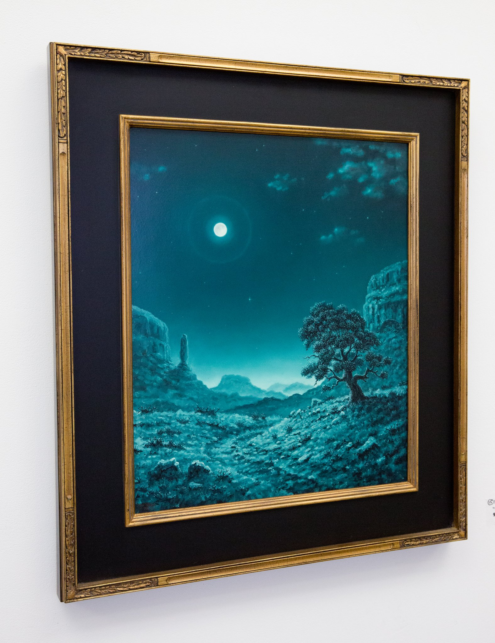 """Third Place (Tie) Paul McMillan - """"Night Roads"""" For Sale: $3,600"""