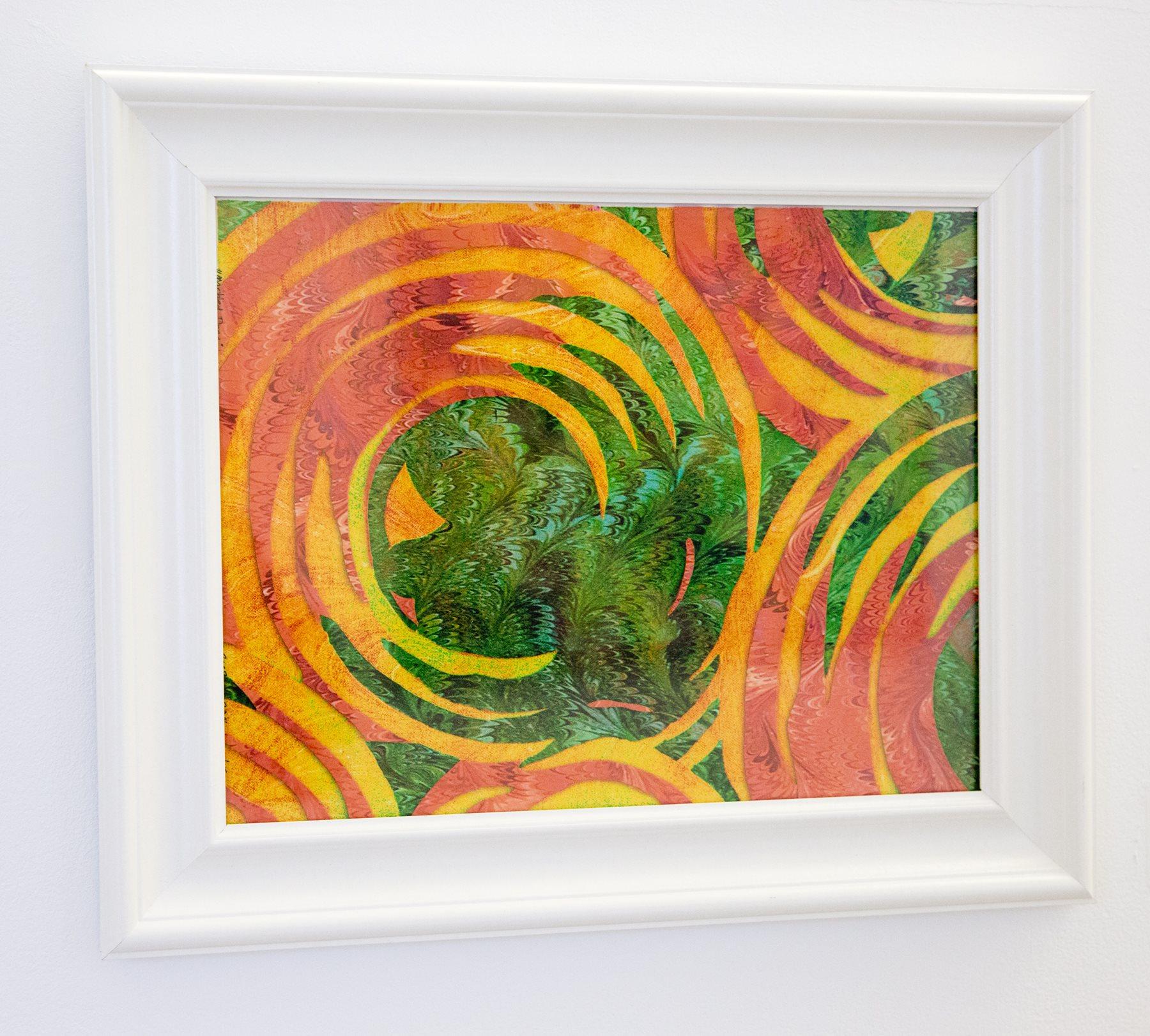 "Dean & Linda Moran - ""Geometric Sunrise"" For Sale: $70"