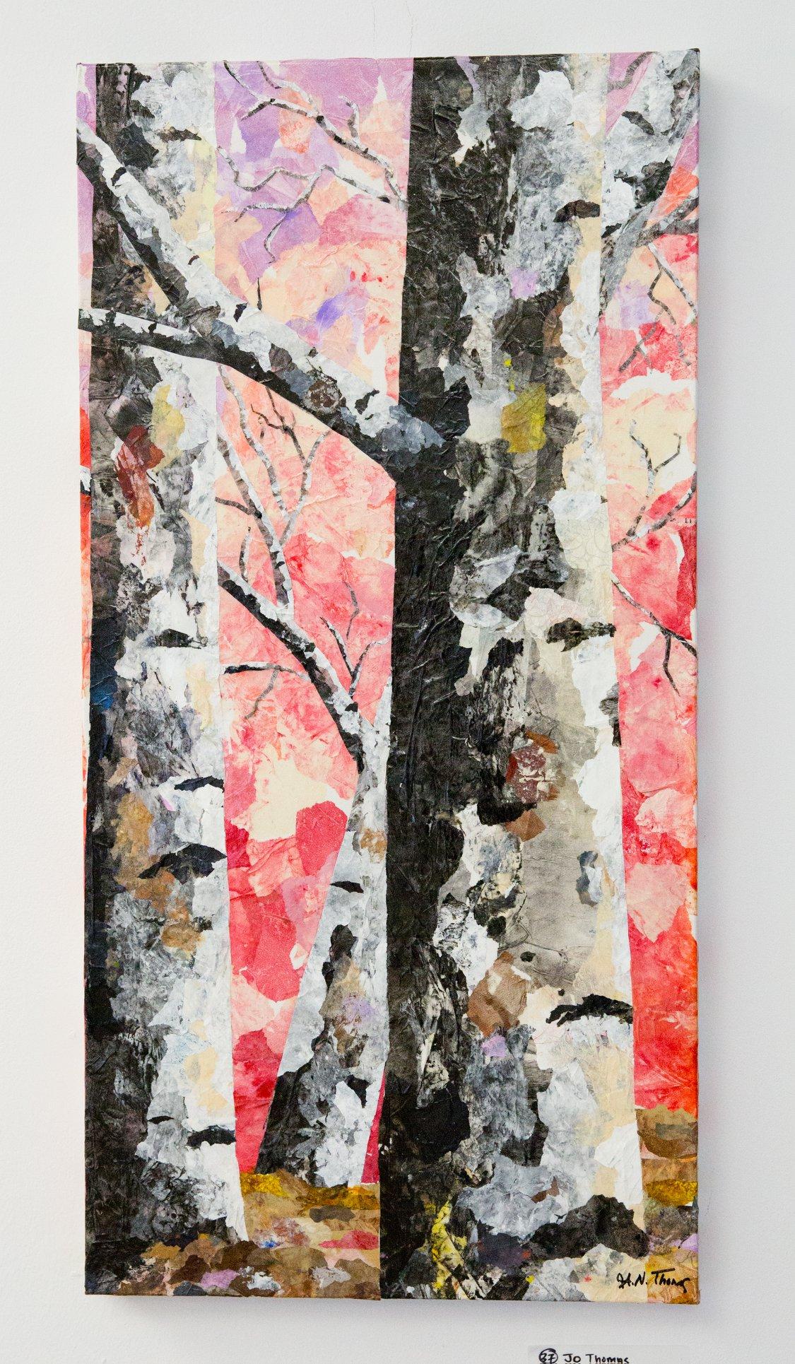 "Jo Thomas - ""Vermont Sunset"" For Sale: $599"