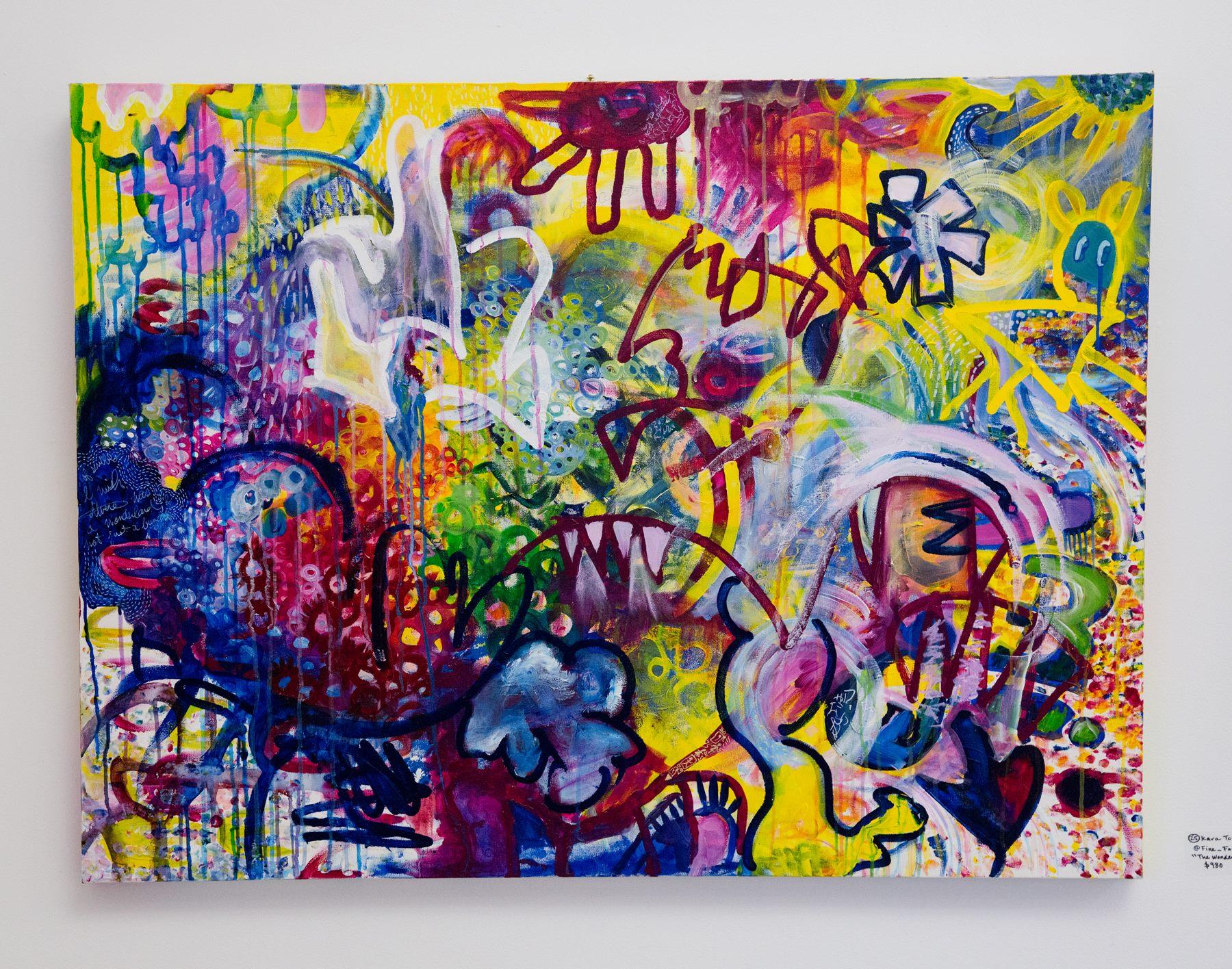 """Kara Torres - """"The Wonderful Garden"""" For Sale: $980 Insta: @Fine_Forager"""