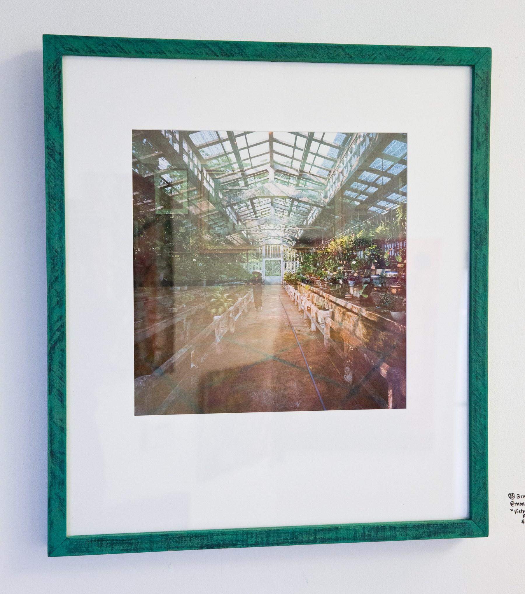 "Brooke Monte - ""Vietnam Greenhouse / Art Museum"" For Sale: $300 Insta: @monteart"