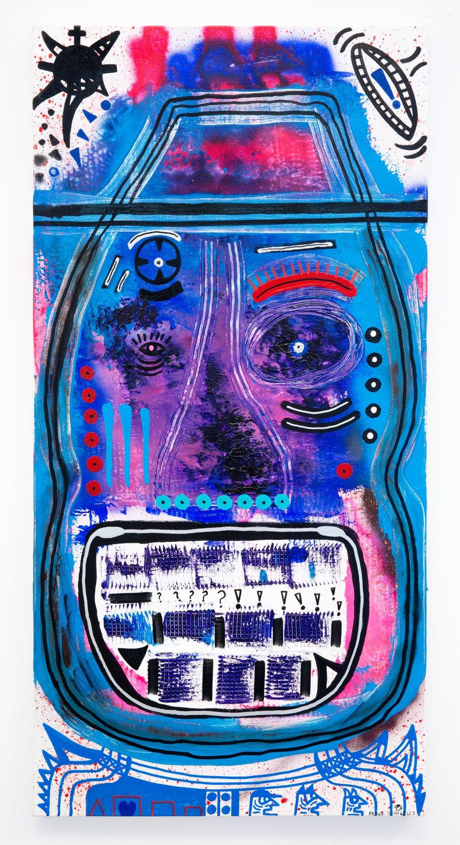 """Frank DeAngelis - """"Big Mouth Strikes Again"""" Insta: @frankdeangelisart  For Sale: $375"""