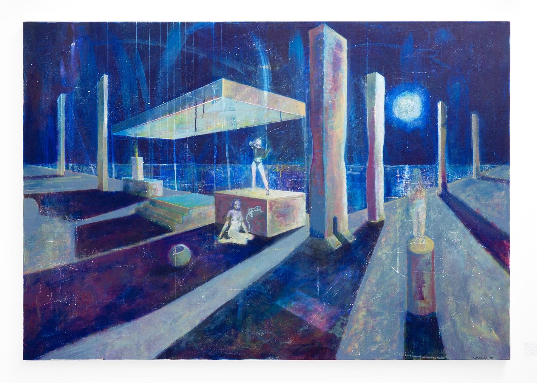 "Eric Eickmann - ""One"" Insta: @Eickmannart  For Sale: $5,600"