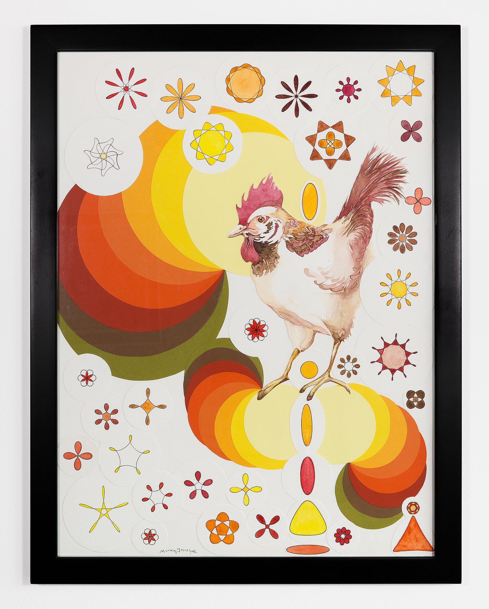 """Nancy Tomczak - """"Pop Chicken"""" For Sale: $450"""