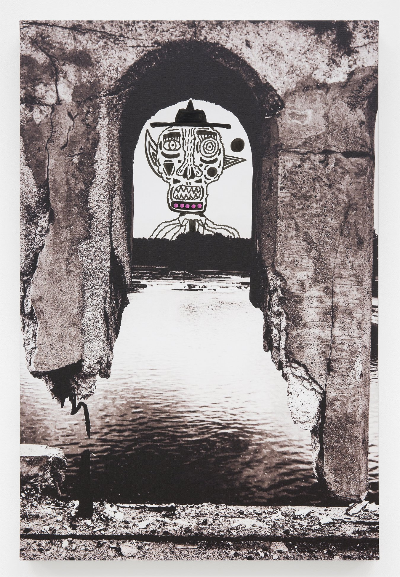 "Frank DeAngelis - ""Winooski Demon Rising"" Insta: @FrankDeangelis.Art  For Sale: $595.80"