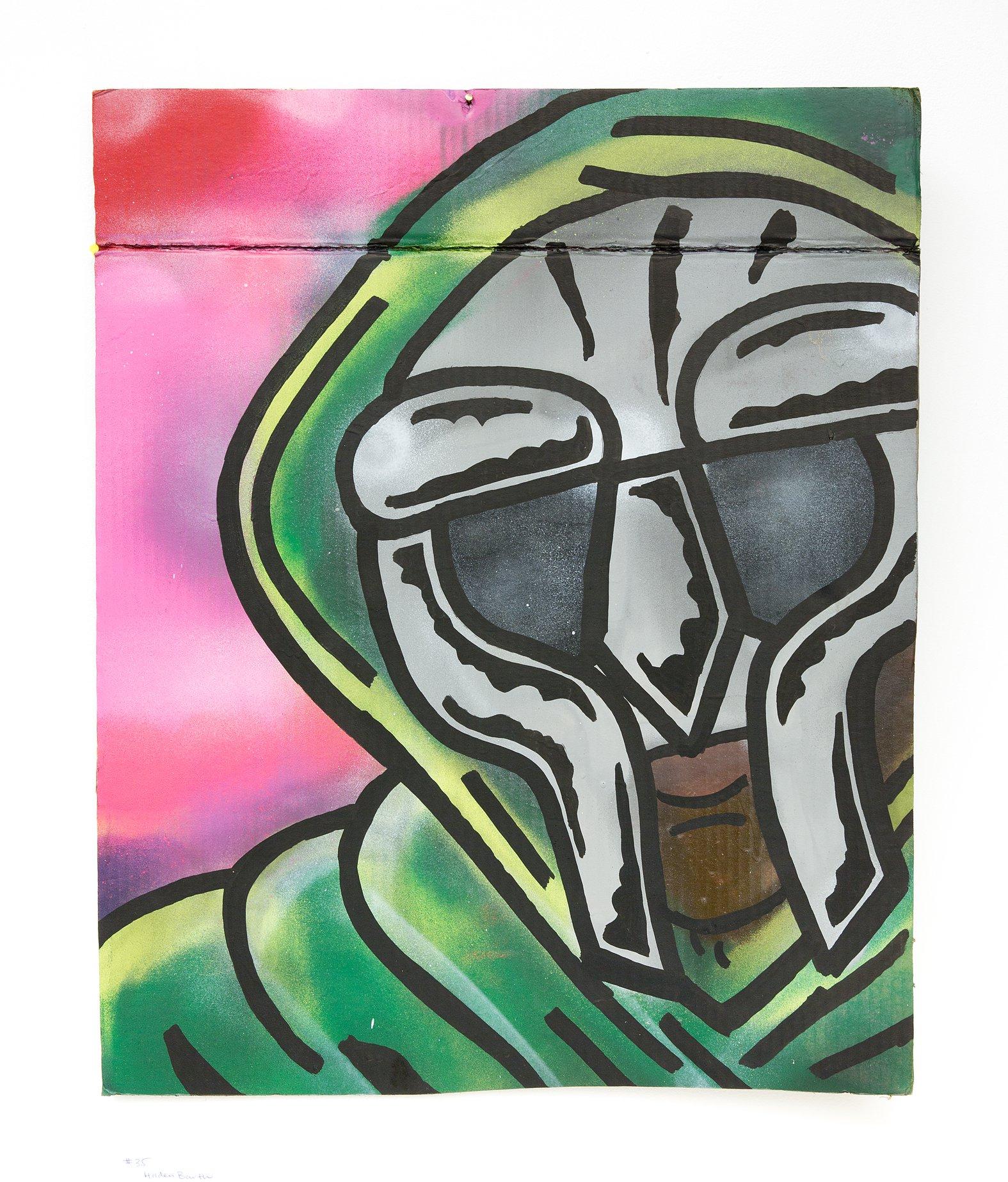 "Holden Barth - ""MF Doom Fan Art"" Insta: @holdenbarth  Not For Sale"