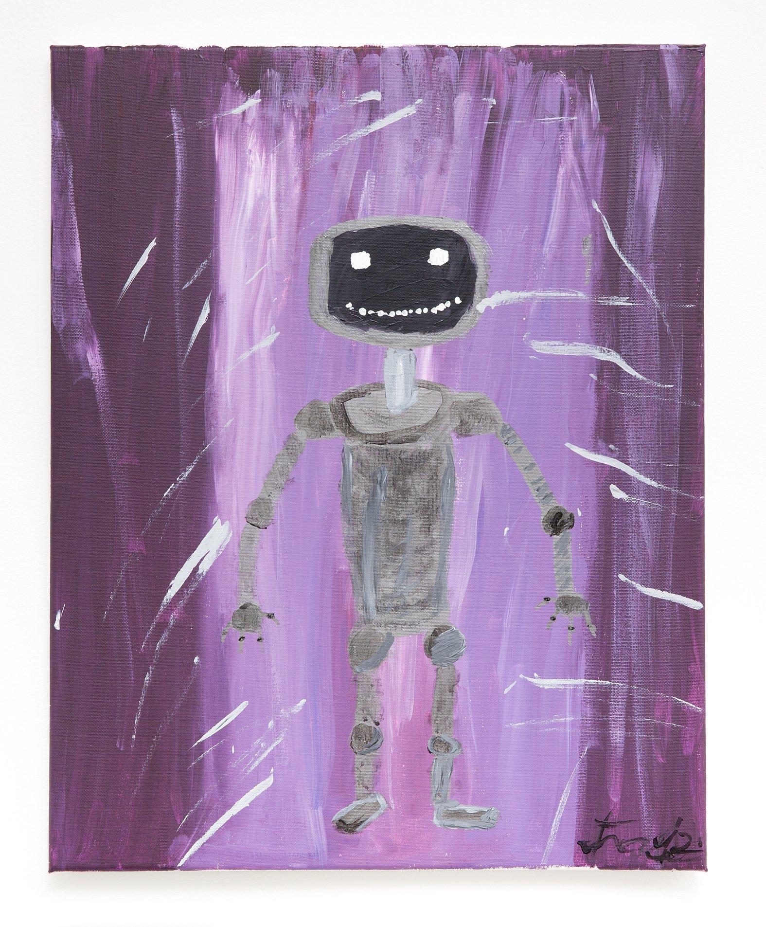 "Travis Will - ""Spooky Robot"" Insta: @super_travis_destroy  For Sale: $100"