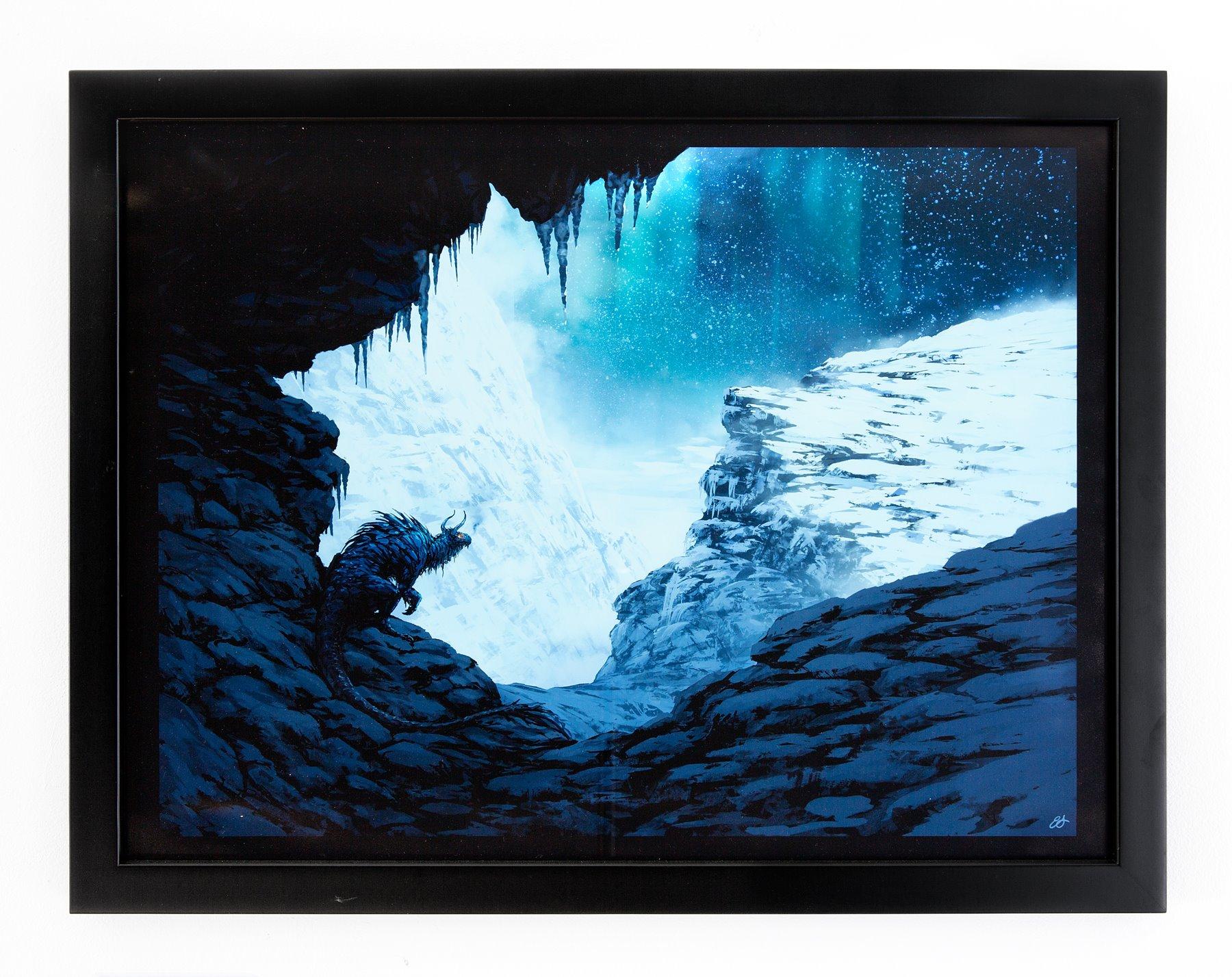 """Eben Schumacher - """"Mountain Dragon"""" Insta: @eben.schumacher.art  For Sale: $150"""