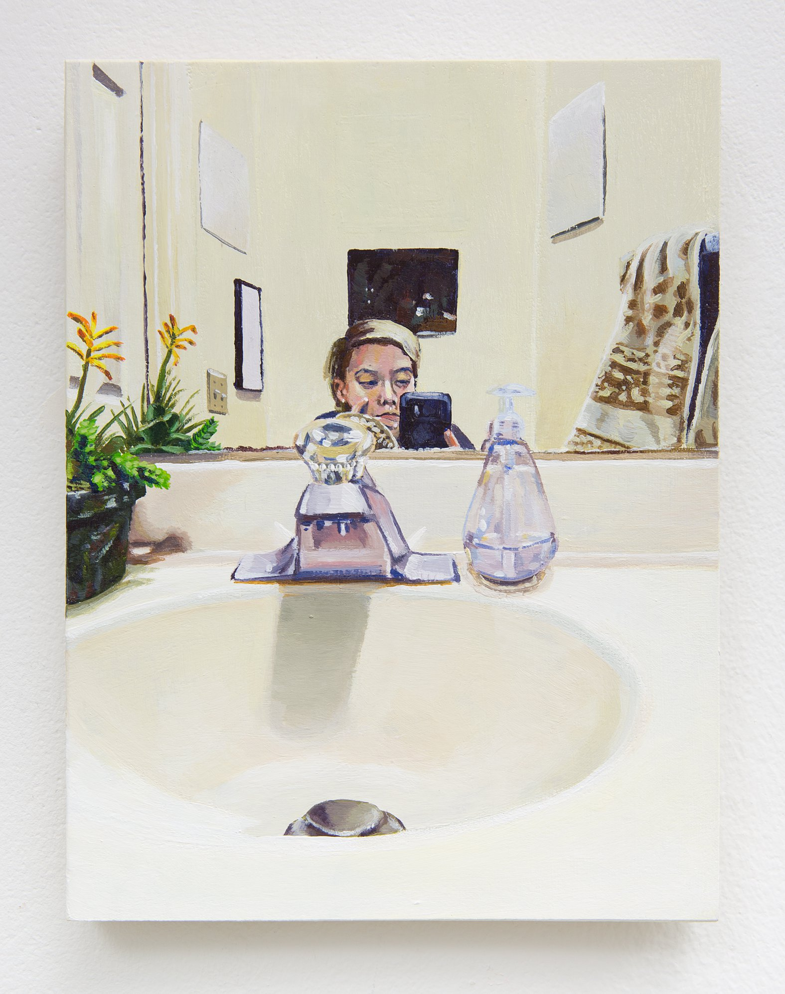 """Nick Peele - """"Bathroom Selfie""""  Not For Sale"""