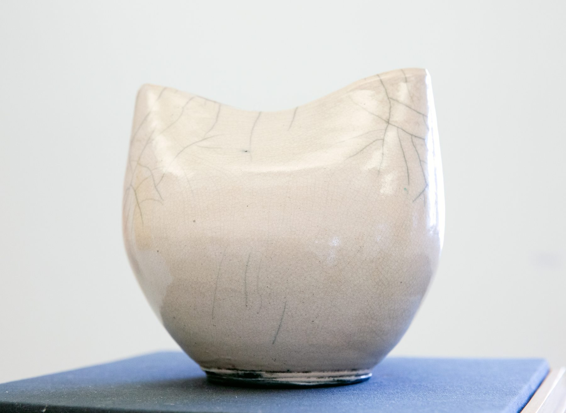 "Mak Bzker - ""Open"" Insta: @balancedpottery  For Sale: $250"