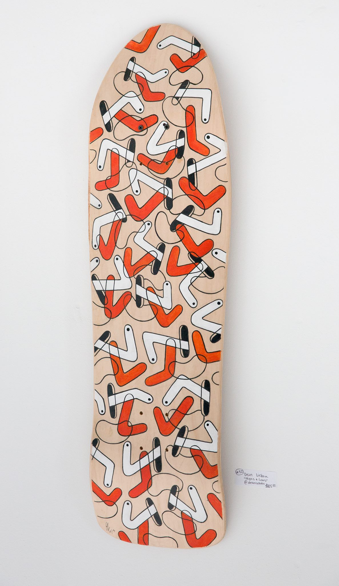 "Dean Liebau - ""Highs & Lows"" Insta: @deanliebau  For Sale: $105"