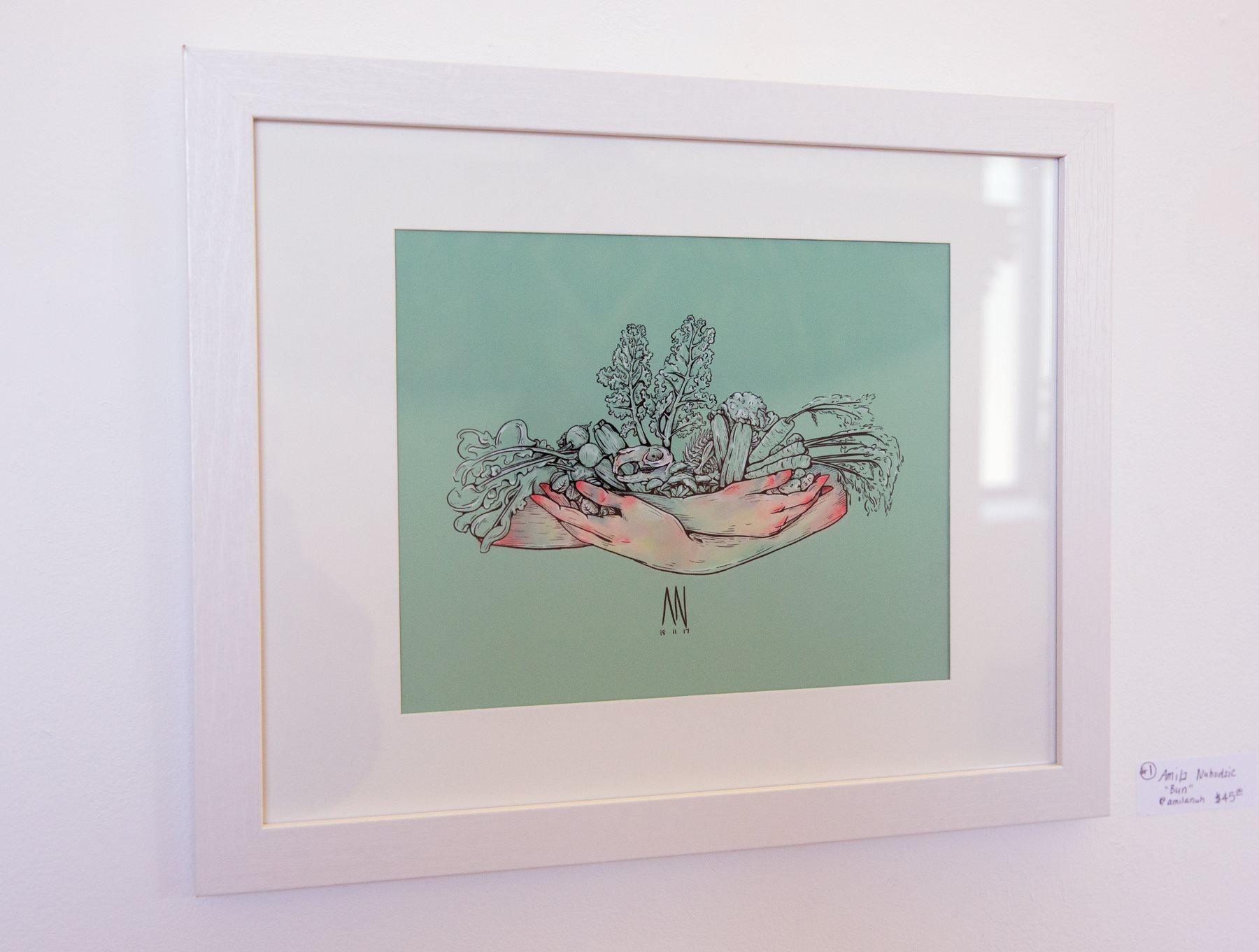 "Amila Nuhodzic - ""Bun"" Insta: @amilanuh  For Sale: $45"