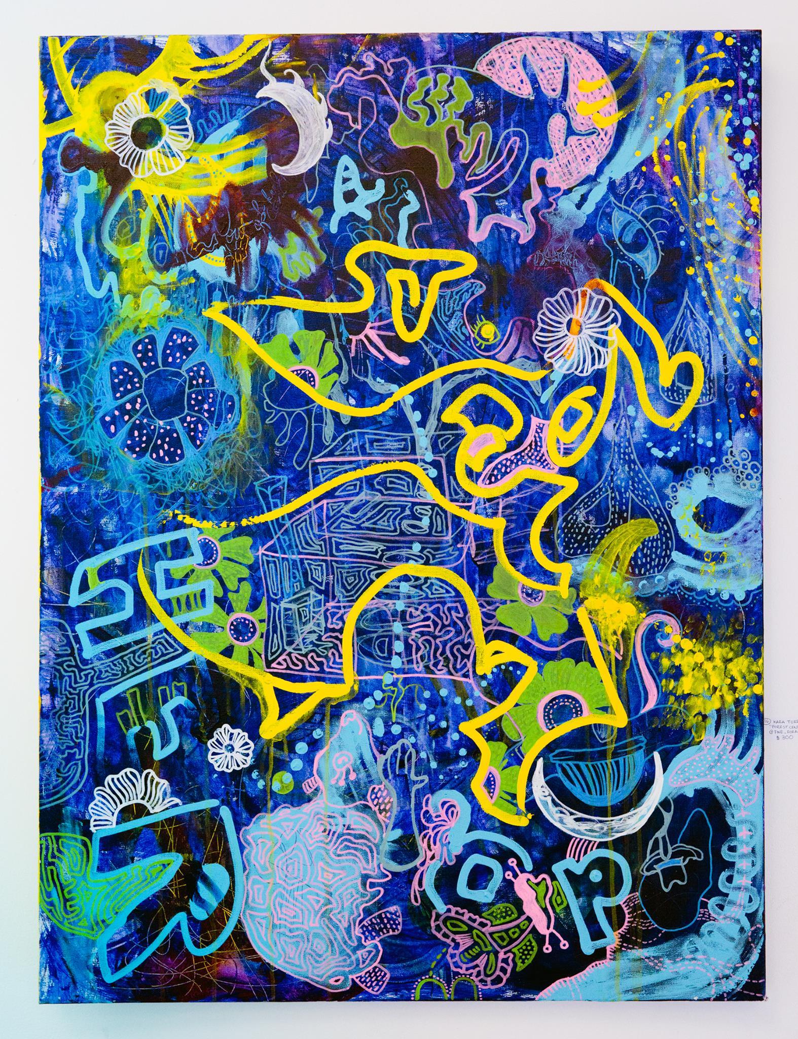 """Kara Torres - """"Forest Central Station"""" Insta: @fine_forager  For Sale: $300"""