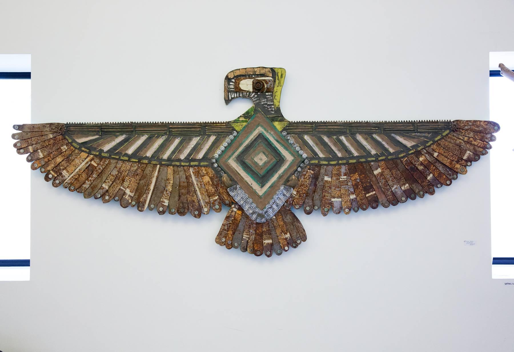 "Jason Pappas - ""Thunderbird"" Insta: @the_factory_wall  For Sale: $1500"