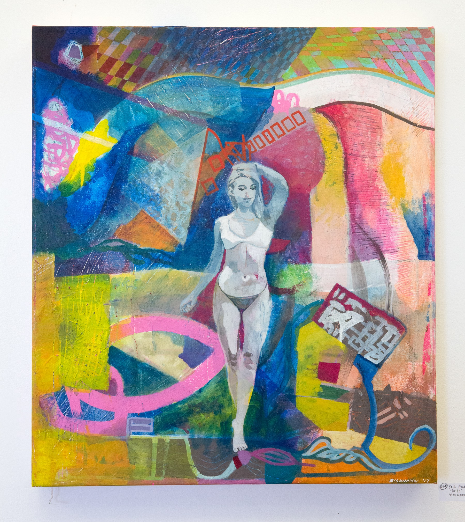 """Eric Eickmann - """"Drift"""" Insta: @Eickmannart  For Sale: $1200"""