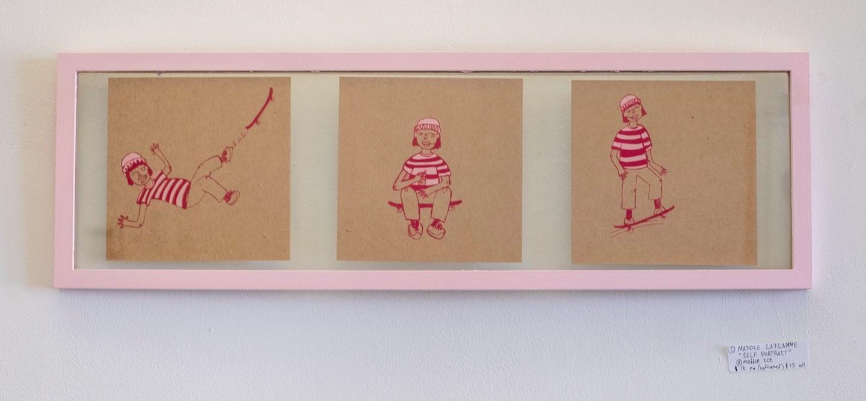 "Maddie LaFlamme - ""Self Portrait"" Insta: @maddie.ice  For Sale: $25"