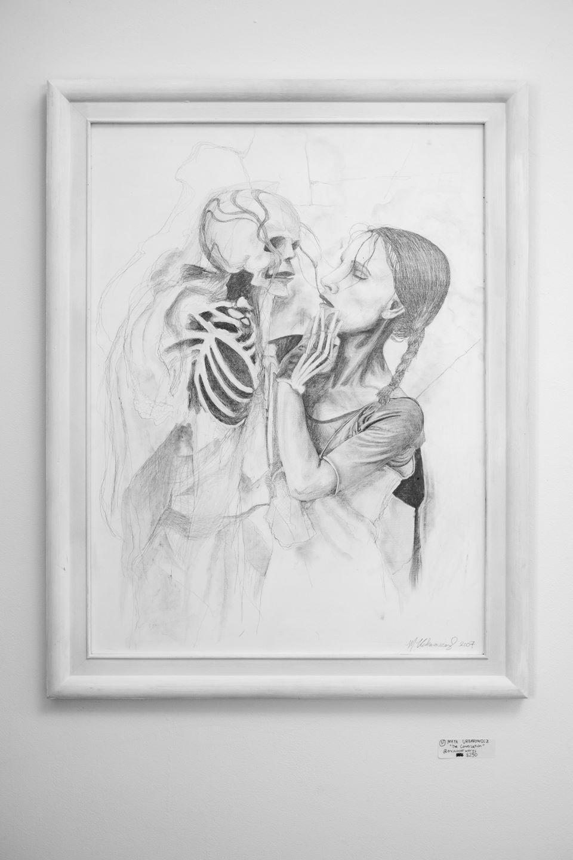 """Maya Urbanowicz - """"Graphite on Panel"""" Insta: @encounterworks  For Sale: $250"""
