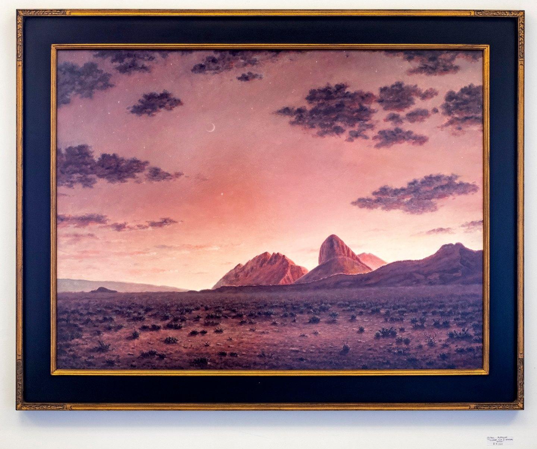 "Paul McMillan - ""Elephant Tusk & Backbone Ridge"" For Sale: $18,000"