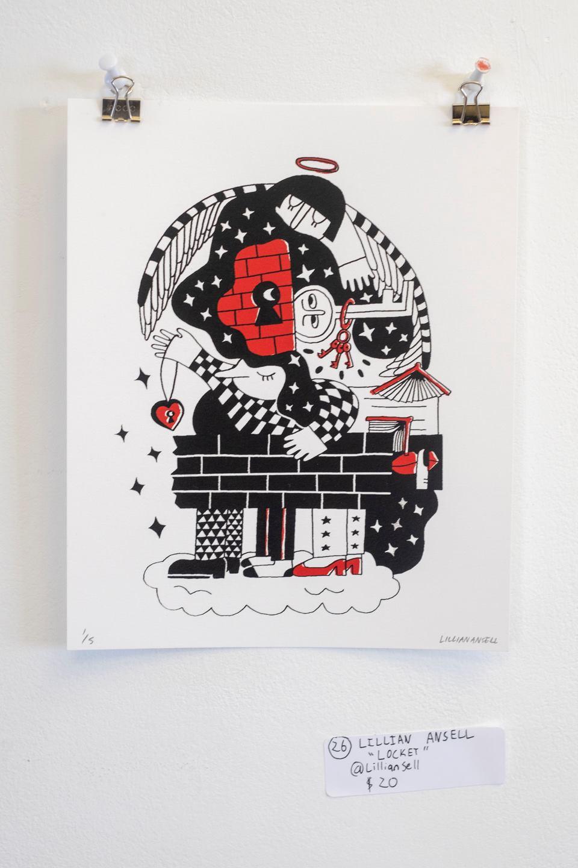 """Lillian Ansell - """"Locket"""" Insta: @lillianansell  For Sale: $20"""