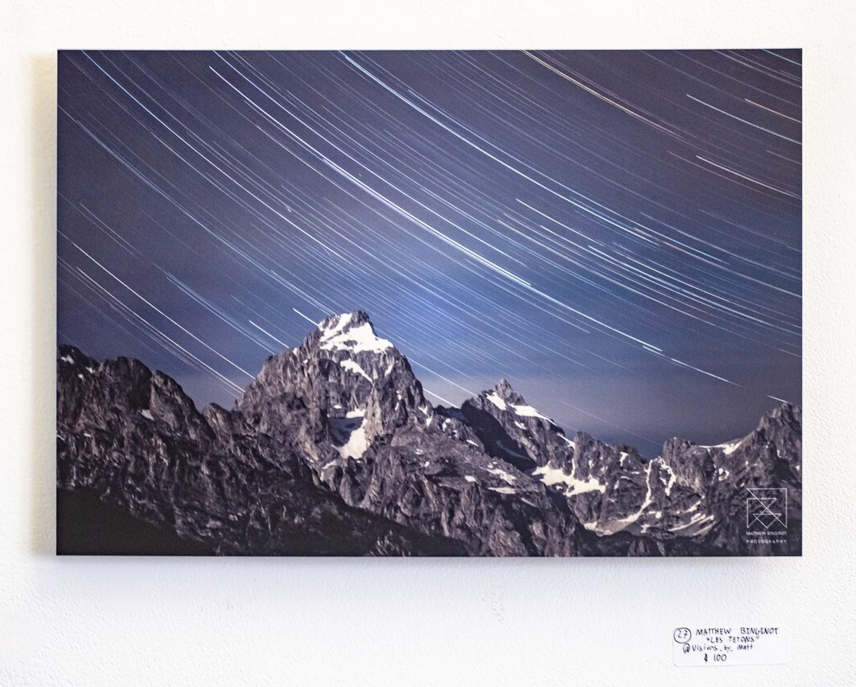 "Matthew Binginot - ""Les Tetons"" Insta: @visions_by_matt For Sale: $100"