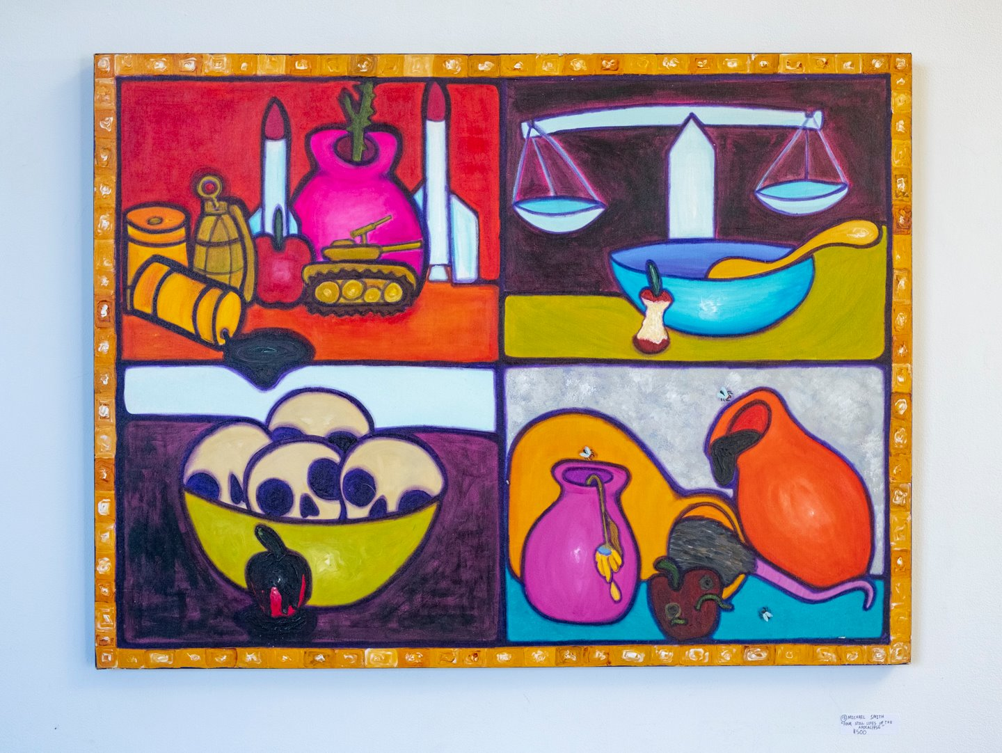 """Michael Smith - """"Four still lifes of the apocolypse"""" For Sale: $500"""