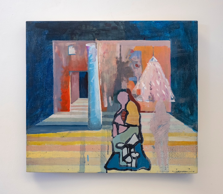"Eric Eickmann - ""Wall"" Insta: @eickmannart  For Sale: $500"