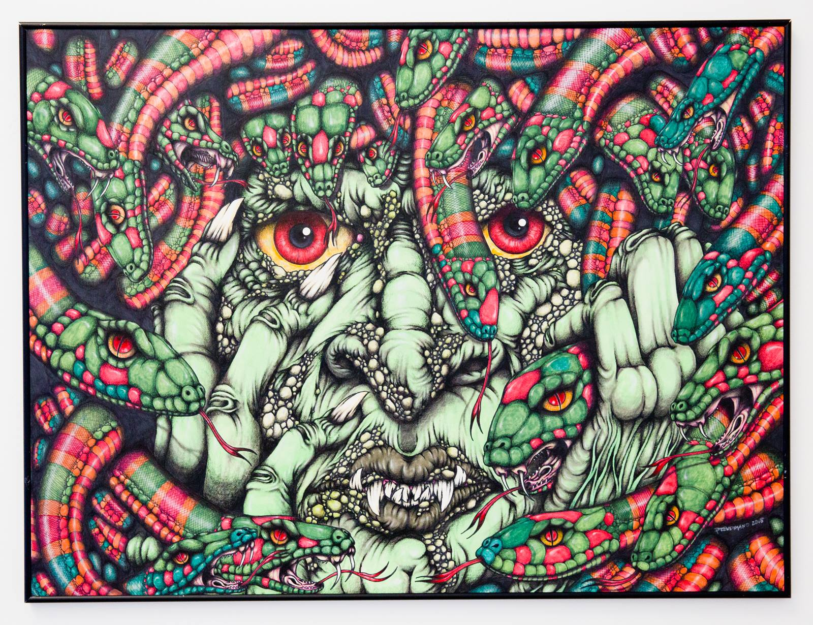 "Andrew Prendimano - ""Punished by the Gods: Madusa""  For Sale: $1250"