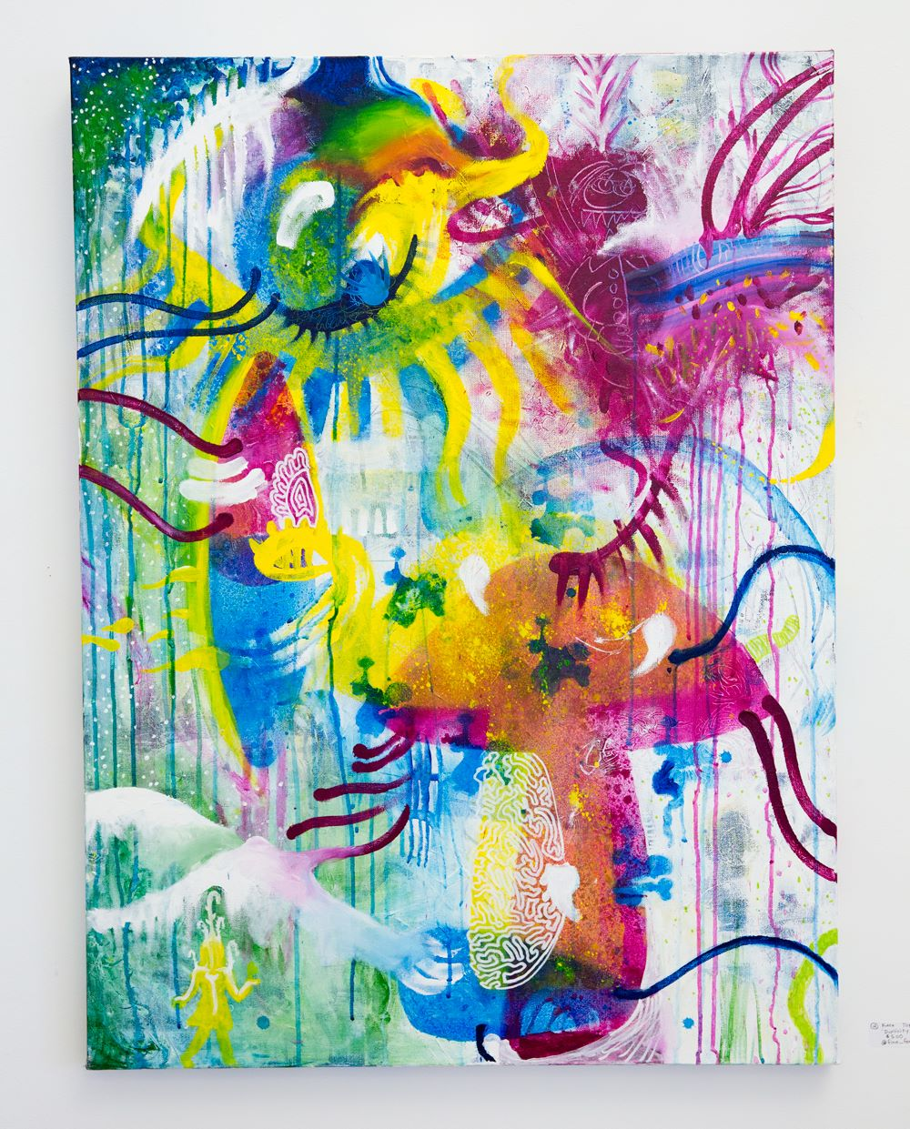 "Kara Torres - ""Duplicity""  For Sale: $500 Insta: @fine_forager"