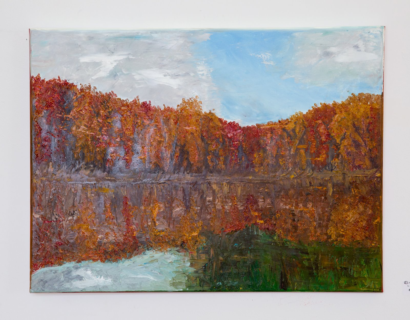 "Sukhmani Dhiman - ""Reflection"" For Sale: $500"