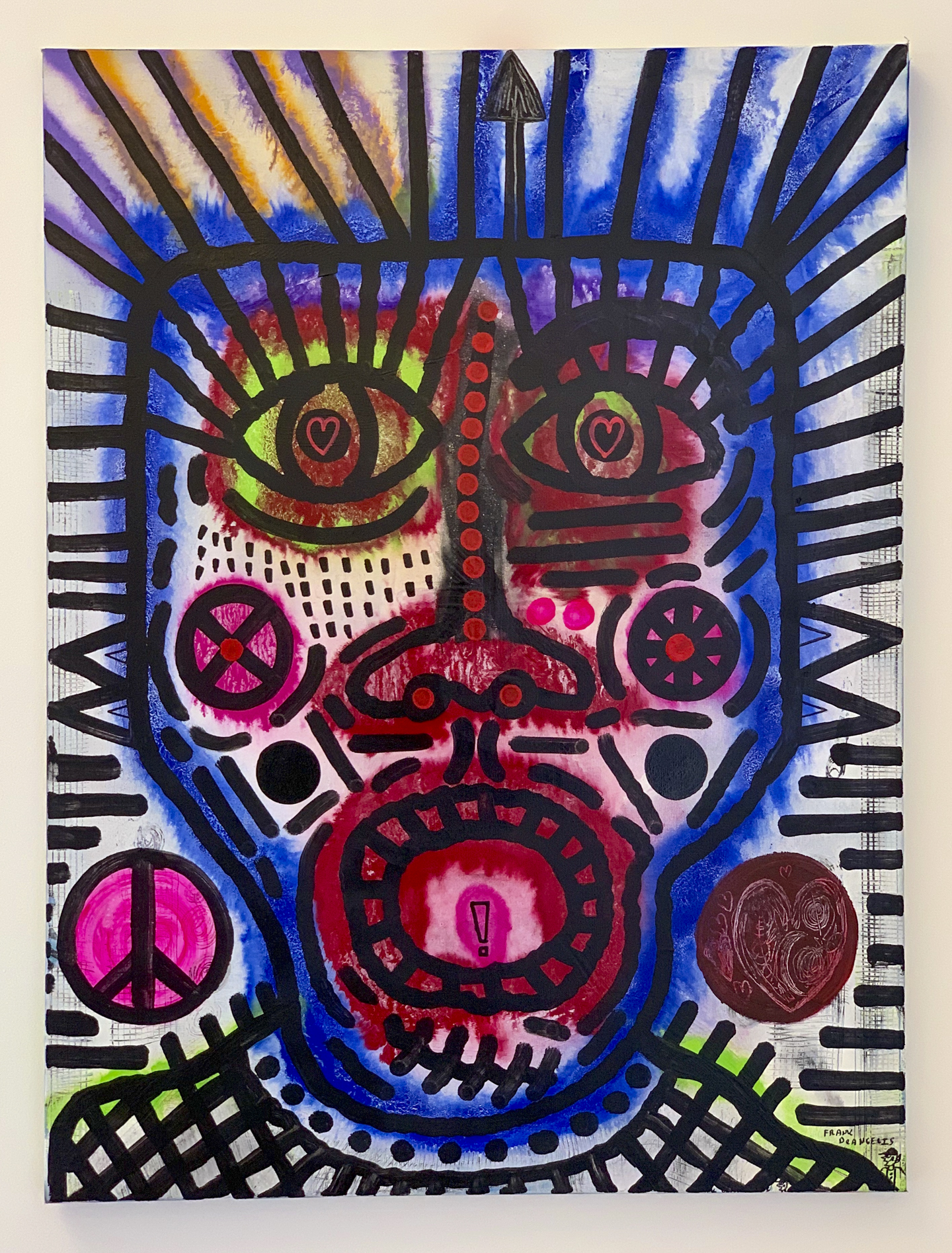 "Frank Deangelis - ""Spearhead"" Insta: @frankdeangelisart  For Sale: $1,000"