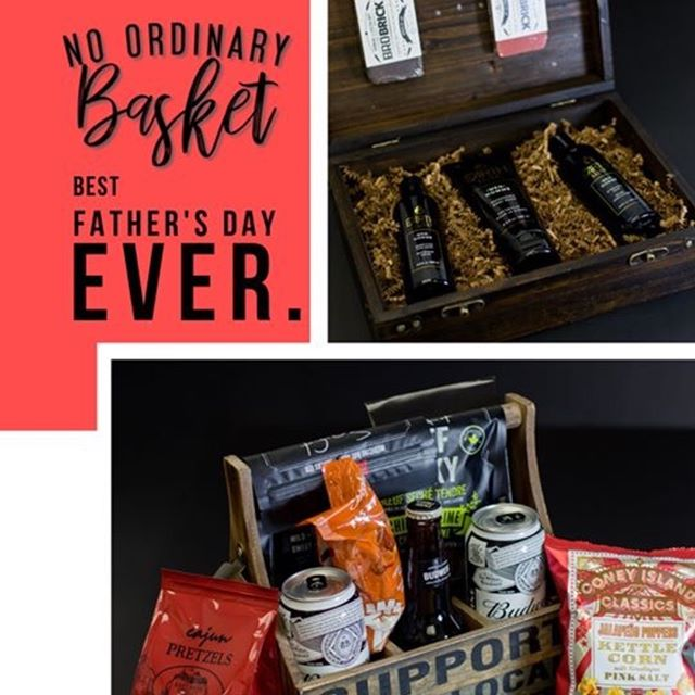 We're gearing up for Father's Day at No Ordinary Basket!  Come see all the ways we can help you honour the Dad's in your life! www.noordinarybasket.ca #fathersdaygifts #fathersday #nobeardnoproblem #manlygifts #leduc #supportlocal #oneofakind