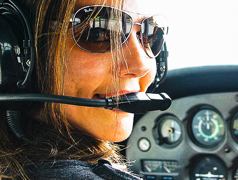 how it works - Along with financial assistance, High School to Flight School helps students navigate the private pilot license process and provides mentorship throughout their flight training.