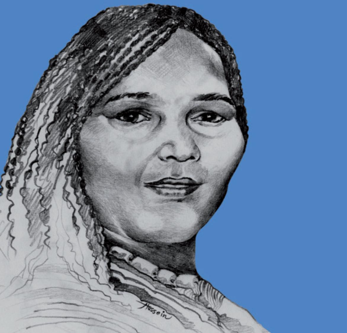 drawing by Hussein Mirghani, Sudan