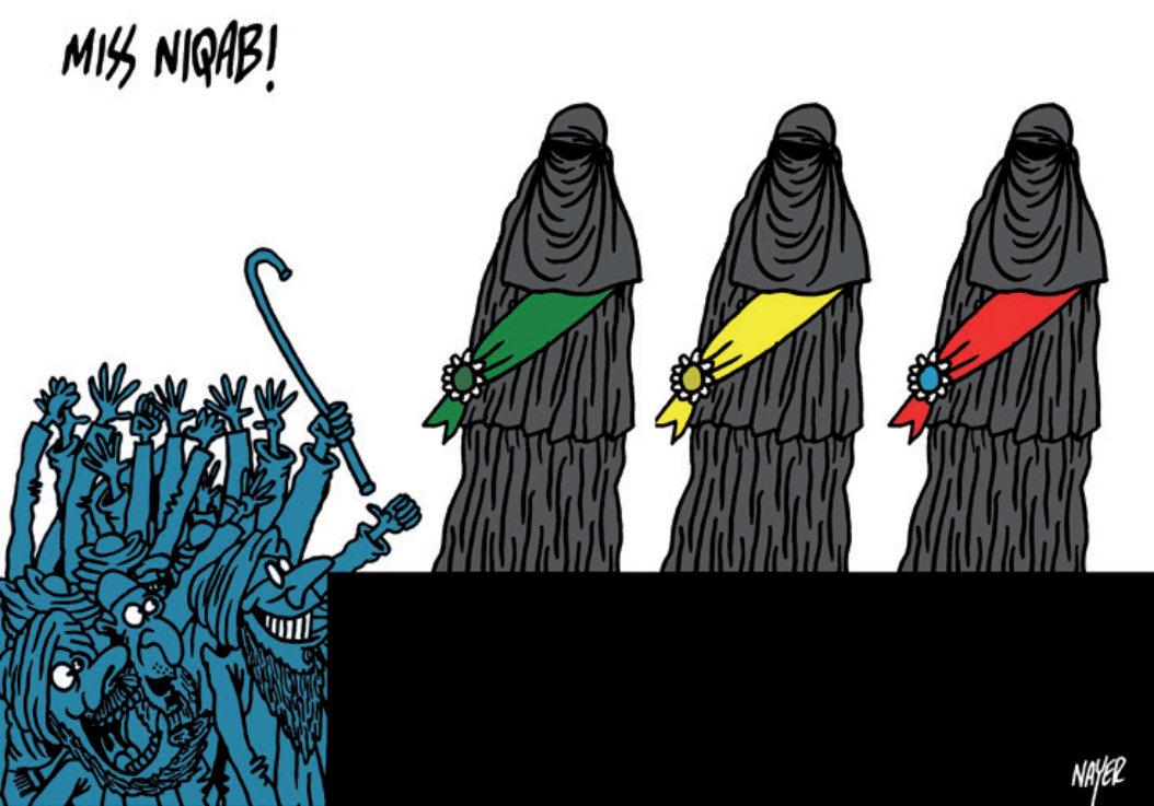 Cartoon by Talal Nayer