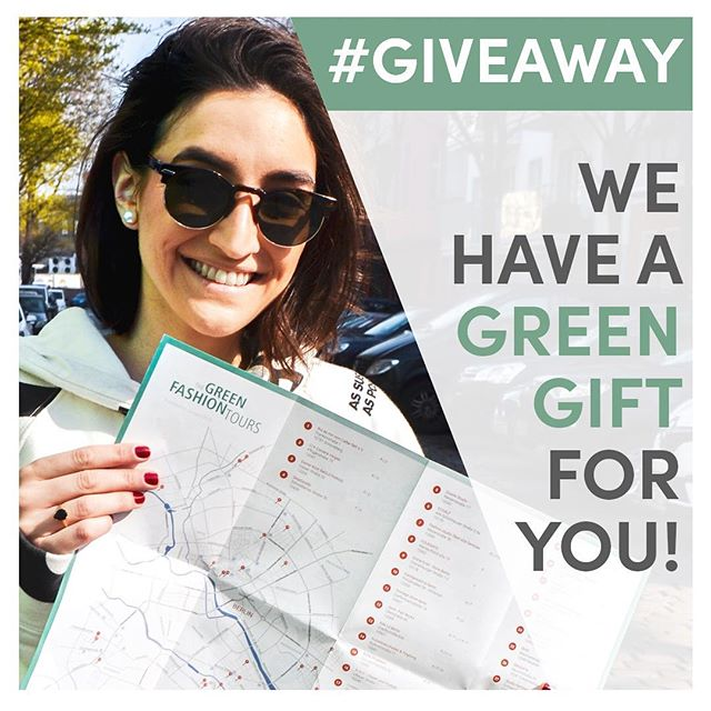 WANT TO GO ON A GREEN FASHION TOUR THIS FRIDAY? ♻️🙌🏼🤩 . We have a voucher for you!!🎉 . What you need to do is: . ♻️1️⃣Follow us @desvista_ and @greenfashiontours ♻️2️⃣Like our picture ♻️3️⃣Tag 2 friends . The Tour will happen this Friday (5th) in Berlin and it will be lead by #TheGreenFashionTours 💚 . We will have one winner and the promotion will end by tomorrow at 12:00 when we will DM the person who won the tour! 👚♻️🔝🌎 . Good luck everyone and thank you for participating❣️ . . . #desvista #giveaway  #greenfashion #tours #berlin #creativefashion #slowfashion #consciousfashion #smartfashion #loveyourwardrobe #wearrewear #createtorenew #modaverde #loveyourclothes #consultoriademoda #personalstyle #personalstylist #maximizeseuguardaroupa #wardrobe