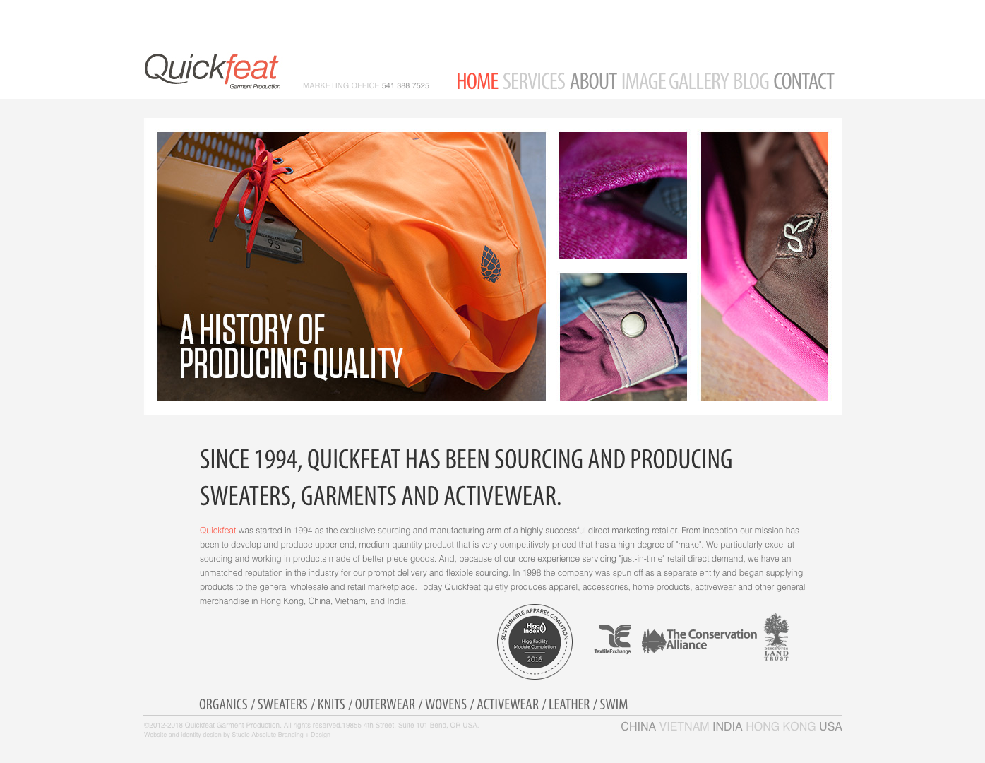 Quickfeat Garment Production