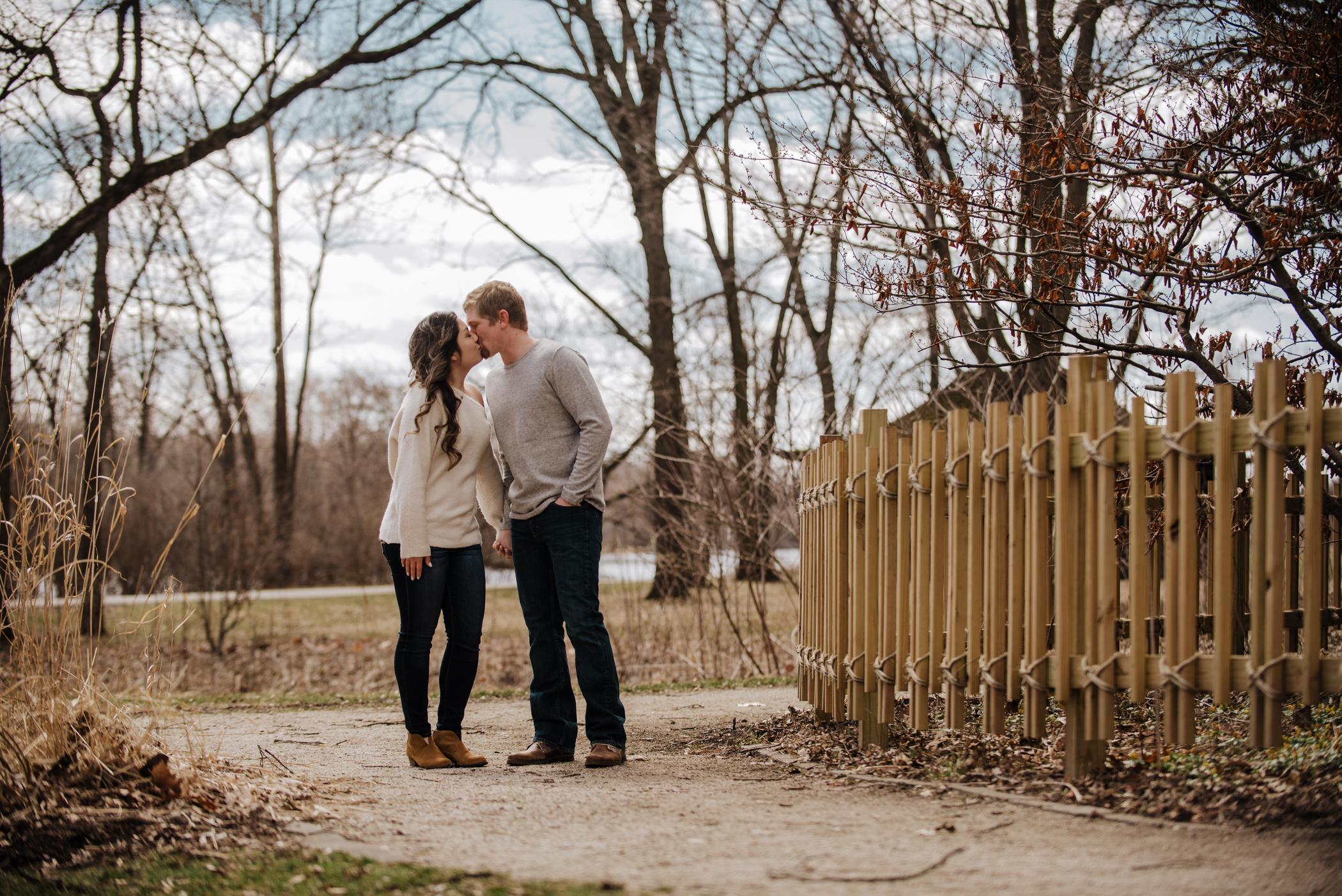 Miranda and Andrew \\ Geneva, Illinois Engagement