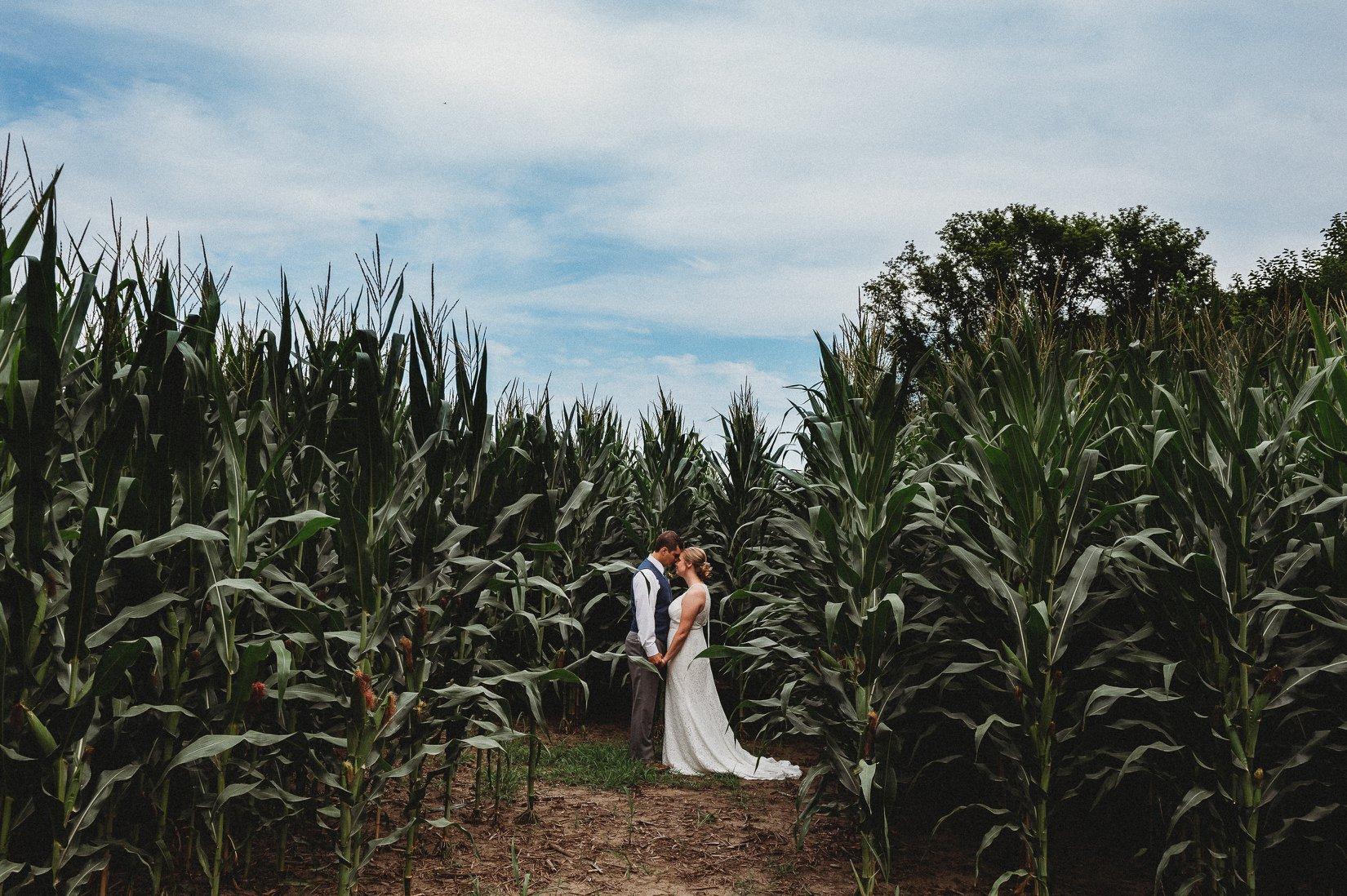 Laura and Jake \\ Elburn Illinois Wedding
