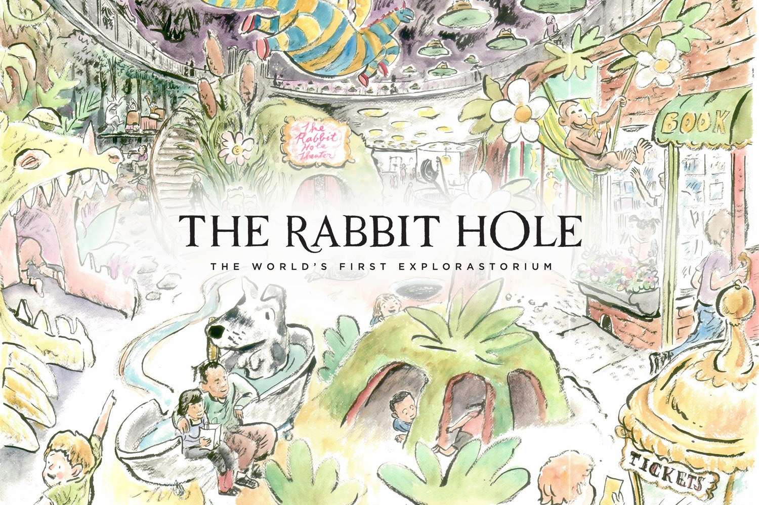 The Rabbit Hole - The Rabbit Hole is a nonprofit museum and the world's first exploratorium. Focused on children's books, The Rabbit Hole encourages reading and learning.