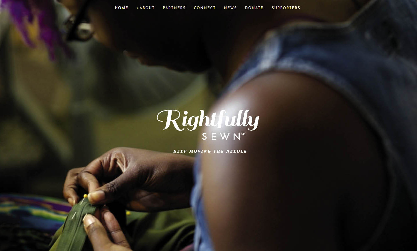 Rightfully Sewn - The ties are hand-crafted in Kansas City, Missouri by Rightfully Sewn, which teaches design, sewing and fabrication, marketing, business, and entrepreneurial skills to at-risk women and men.
