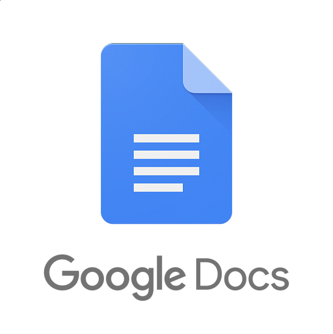 Google Docs - Available on Web and as an App