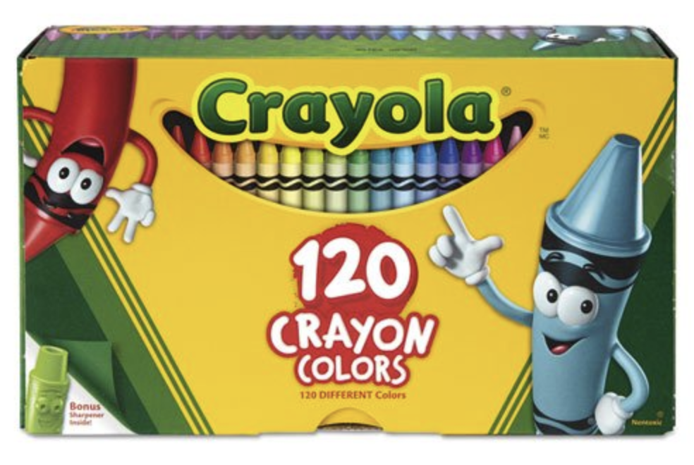 Crayola Non-Toxic Crayons  • 120 Pieces