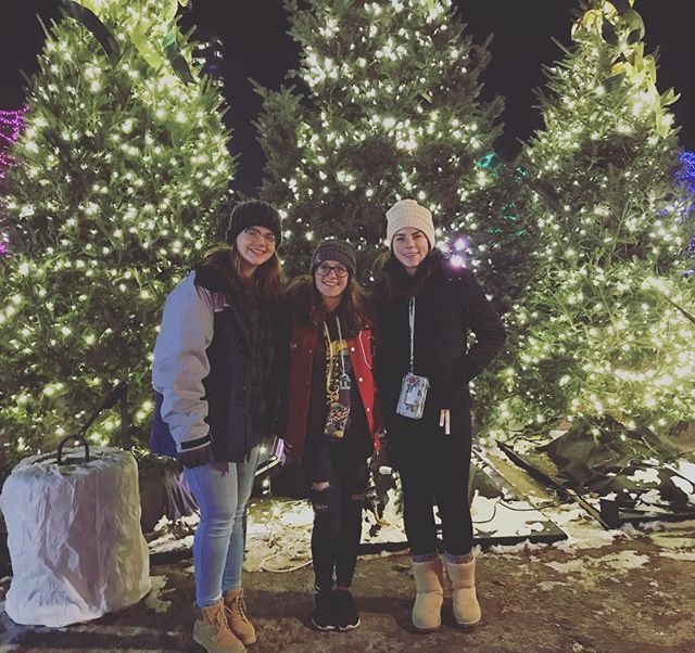 "🚨EXCLUSIVE‼️Our writers went to @holidazzlempls for some ""research"" for CN ²'s next holiday issue.  #cougarnationnews #holidazzle #minnesota #holiday #research"