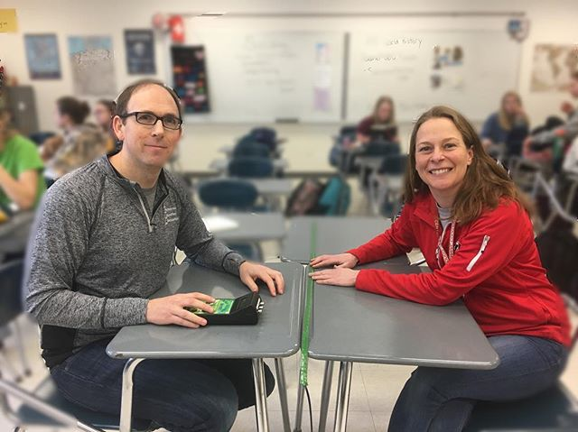 Ms. Heino and Mr. O'Connor's Teacher Spotlight is uploaded on the website! Go check it out! #cougarnationnews