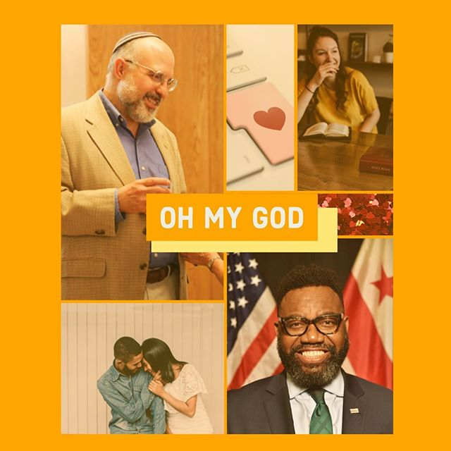 #OHMYGOD is this Thursday @2622_events ✨ Join Rabbi Hyim Shafner and Rev. Thomas Bowen for an introspective discussion on the current state of monogamy in the context of our modern culture. Link to tickets in bio! Can't wait to see you there!