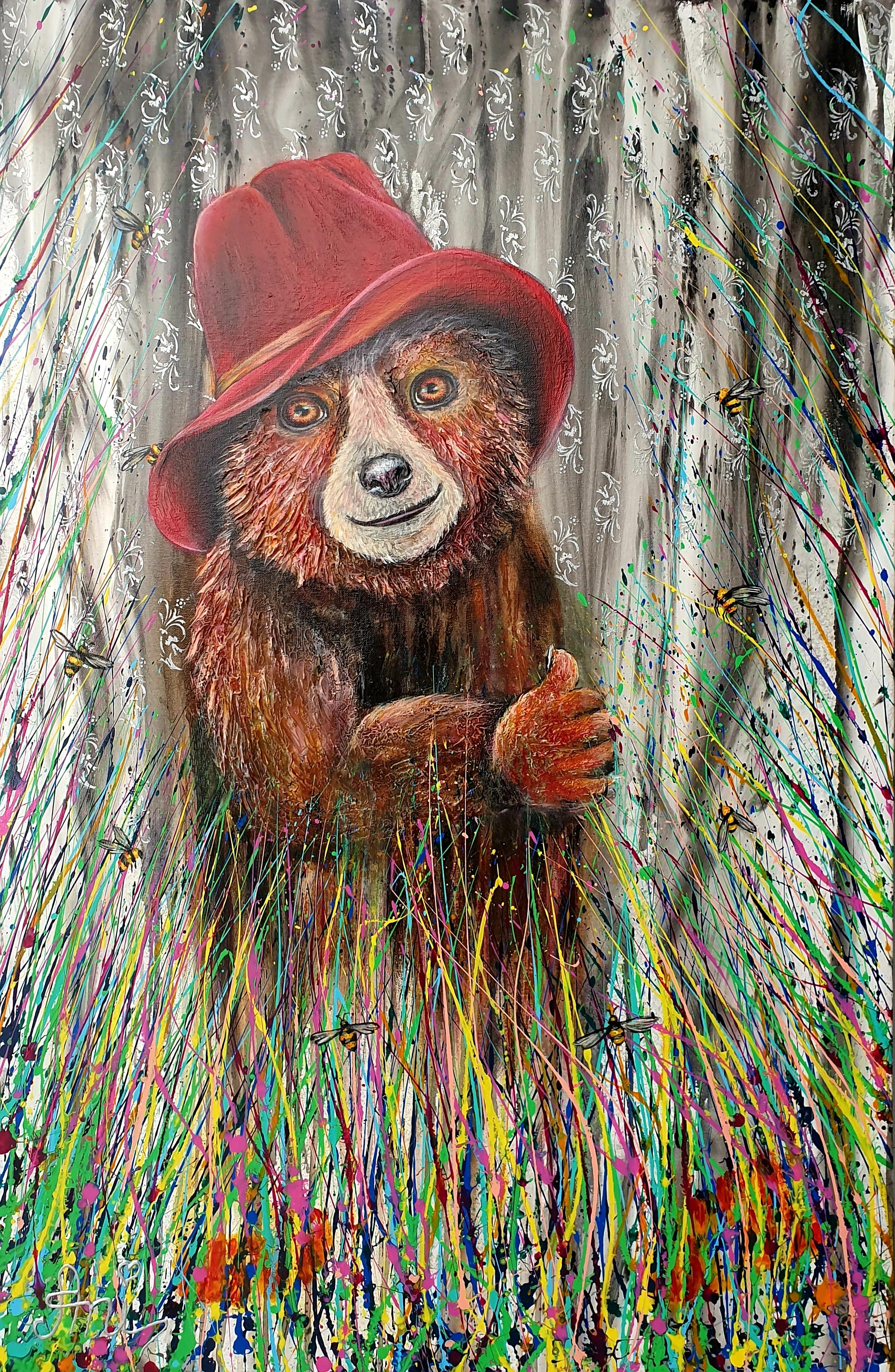 Paddington entre ville et campagne:  Peinture acrylique sur toile, 115cm x 75cm  Prix: 1250€ + frais de livraison