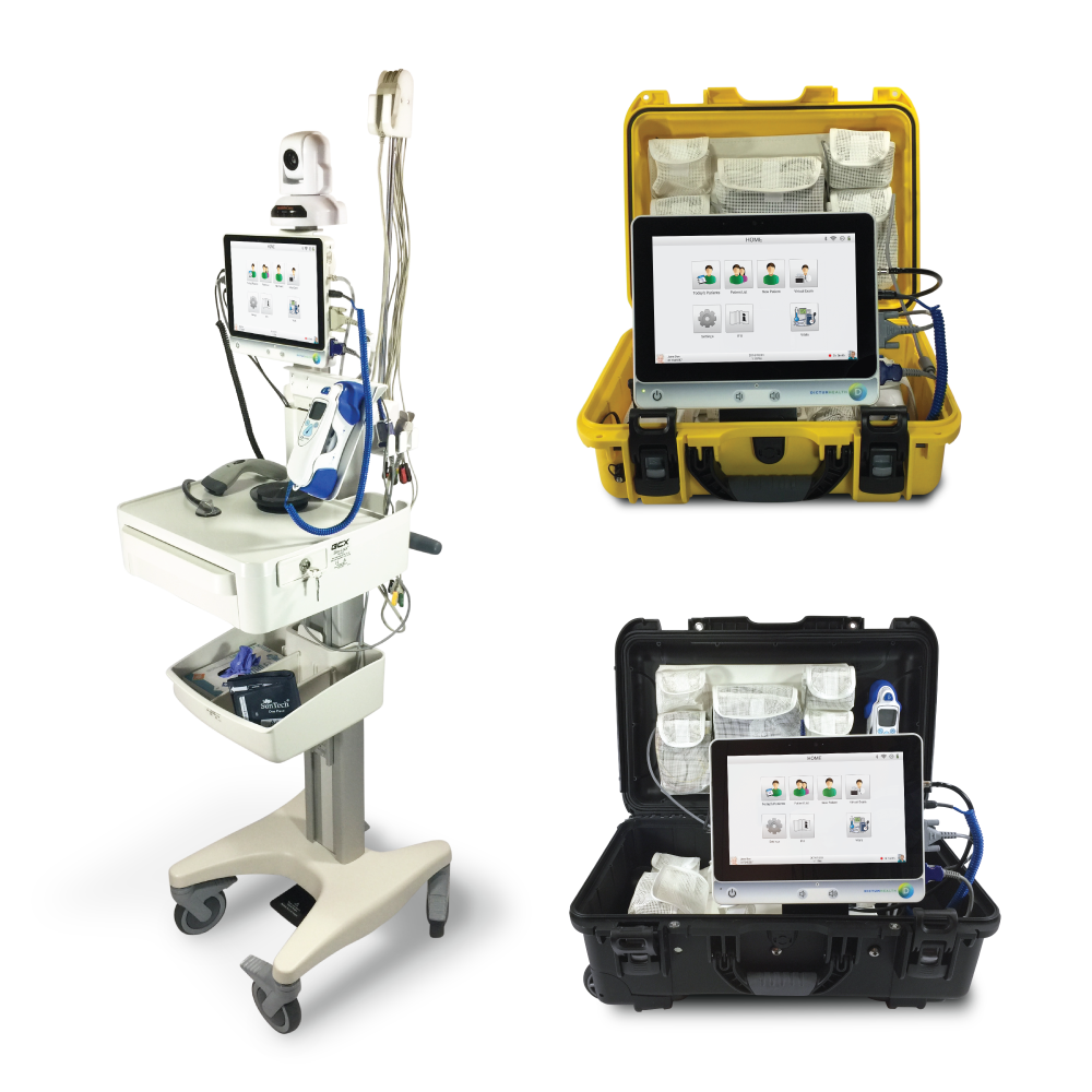 PRODUCTS - View our complete telehealth platform with hardware, software, cloud services, and EMR integration.