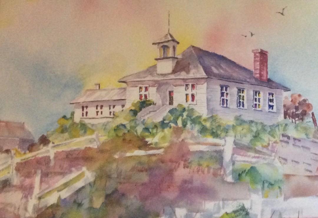 Old Schoolhouse on Penn Cove