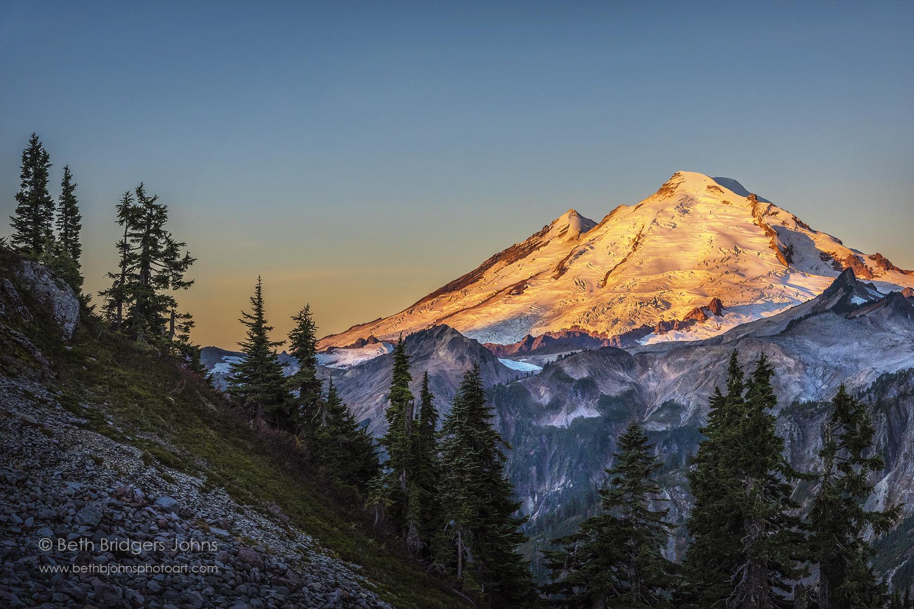 Mount Baker at Sunrise