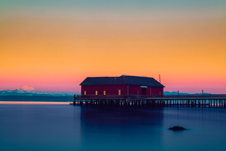 Coupeville Wharf Sunset